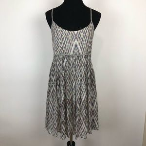 Fun Flirtious Free People Dress With Rope  Size Xs